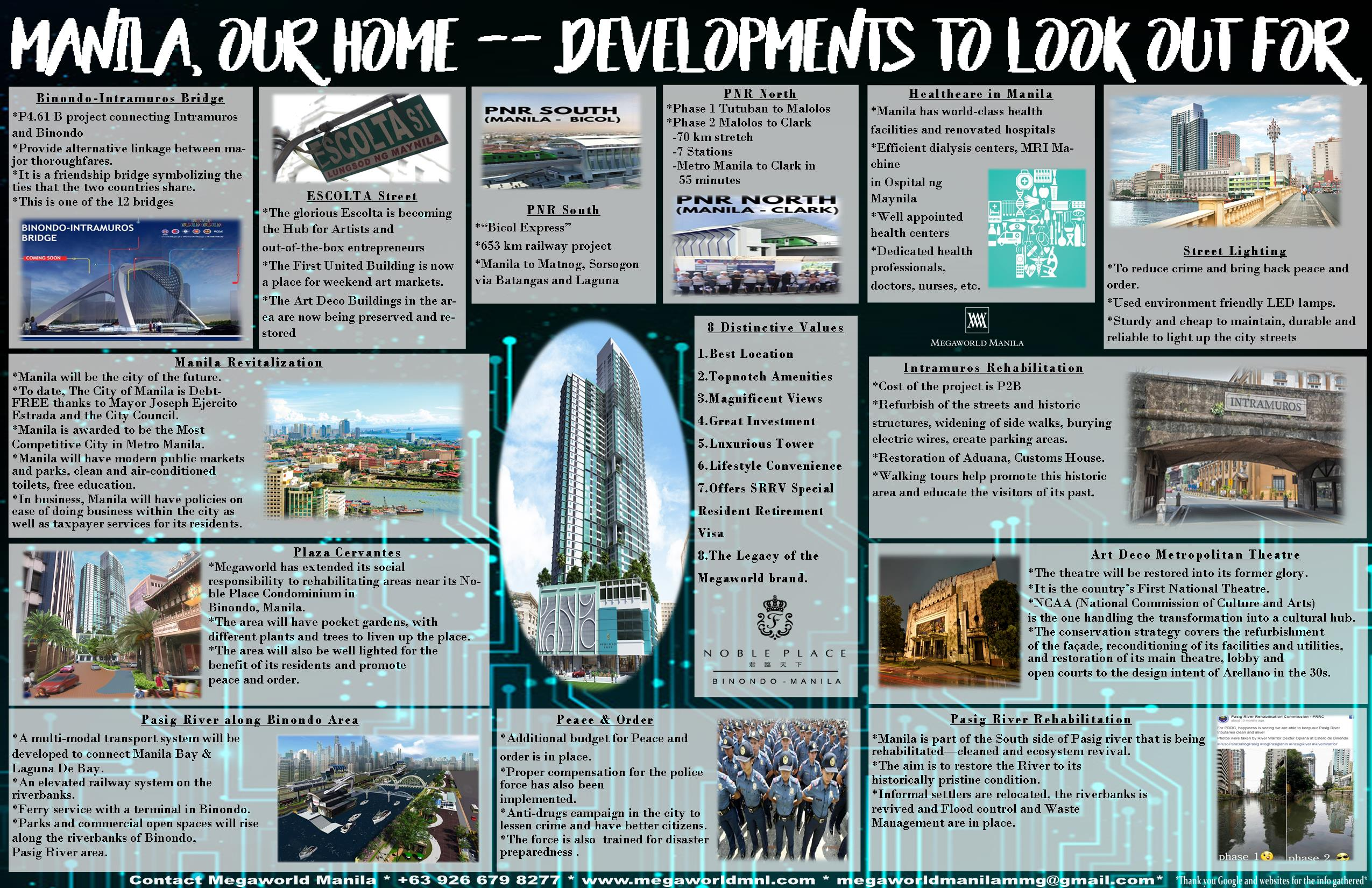 Manila, Our home — Developments To Look Out For