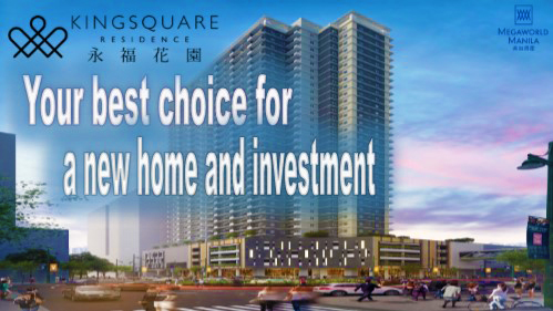 Kingsquare Residence, your best choice for a new home and investment