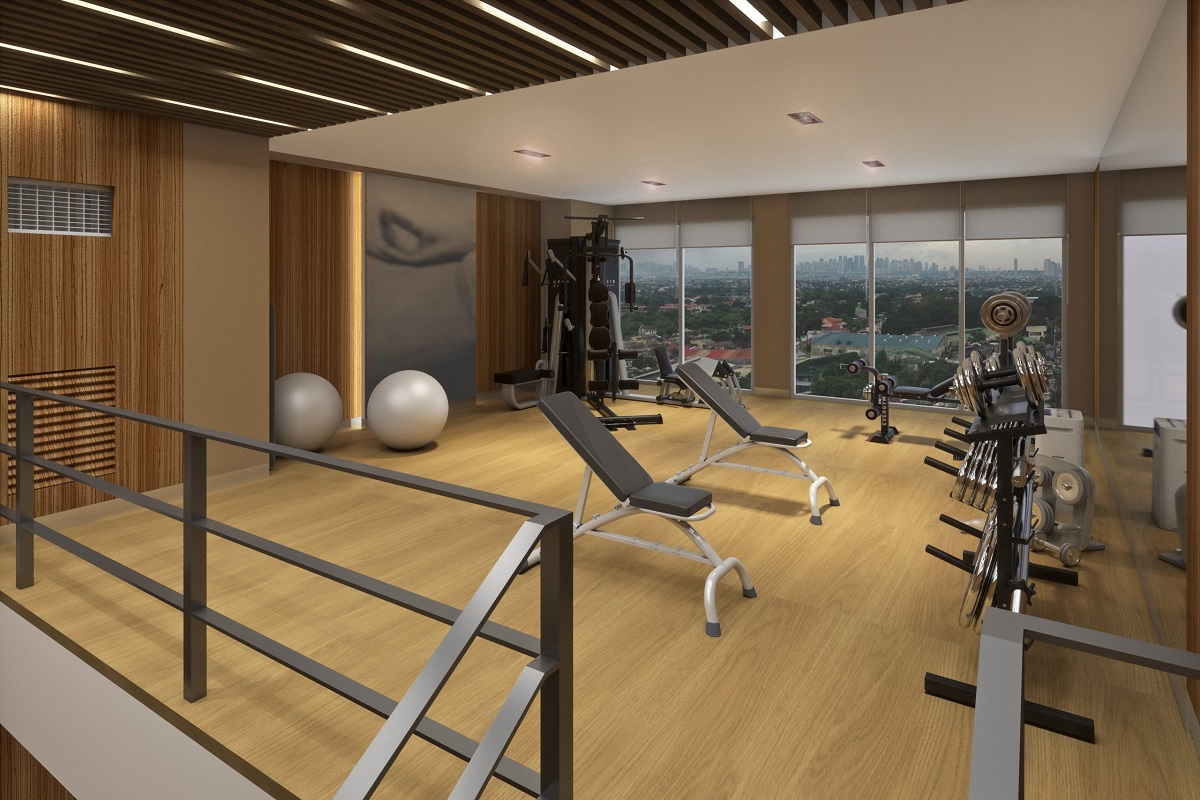 Fully-Functional Fitness Room