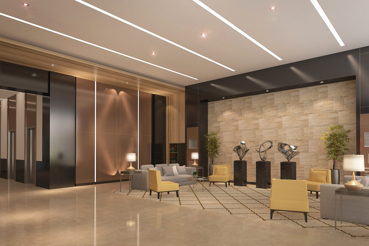 Luxurious Lobby and Lounge