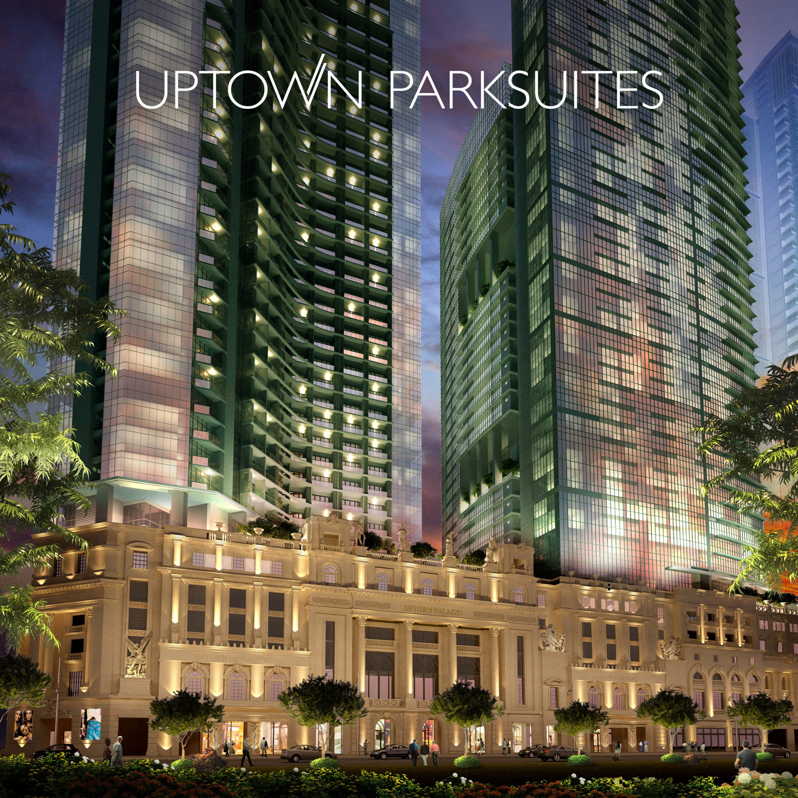 Uptown Parksuites Tower 1